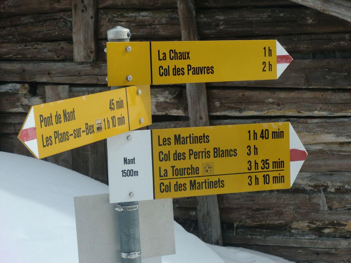 Au lieu-dit de Nant à 1500 mètres d'altitude.