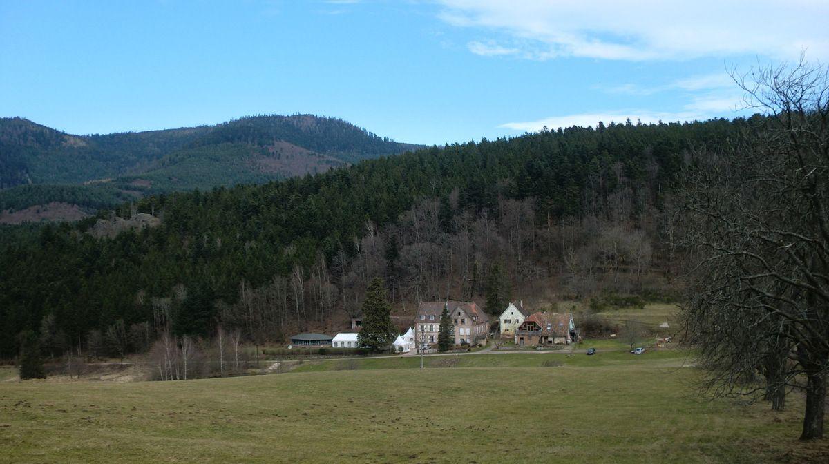 Le centre de vacances du hameau de Gensbourg