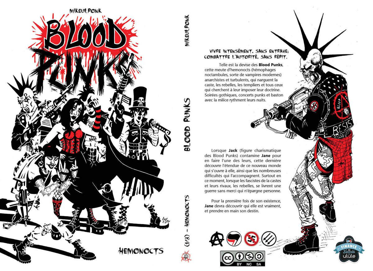 Couverture - BLOOD PUNKS Tome1 - Hemonocts
