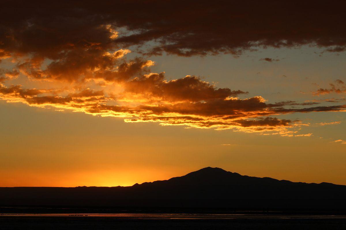 L'après coucher de soleil