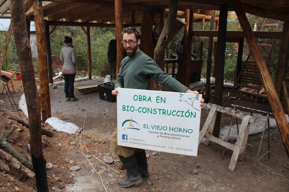 Eh oui, comme on le disait, un accueil chaleureux de Christophe sur le chantier!