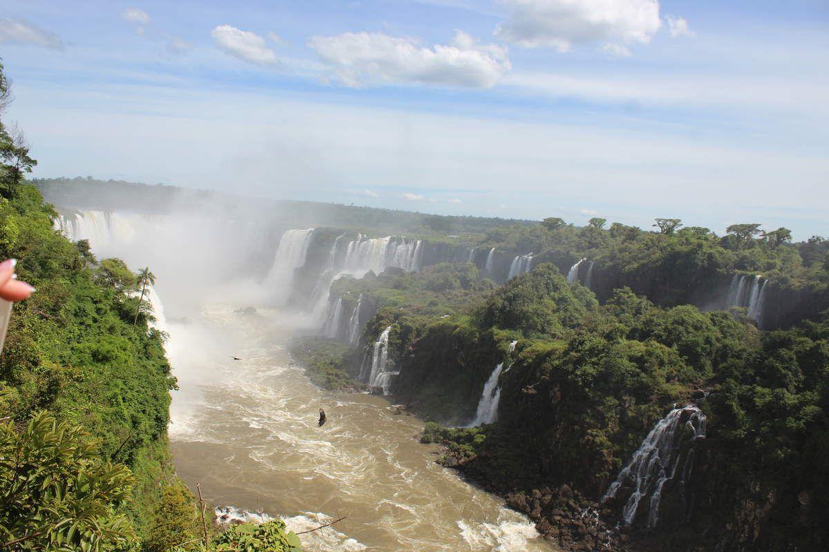 Les chutes d'Iguazu!