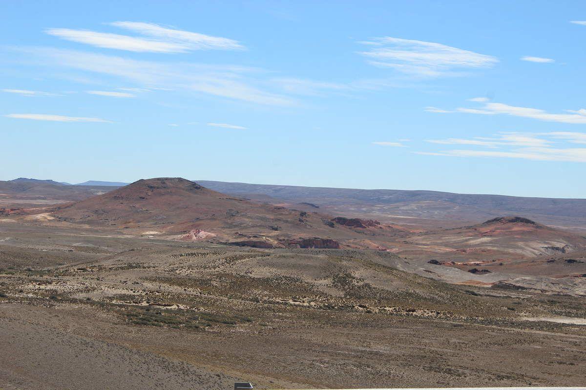 C'est des vallées de roches nous rappelant les teintes des régions du nord de l'Argentine!