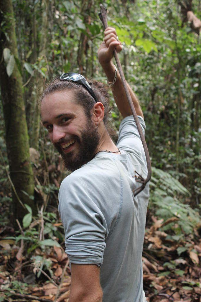 Le Brazo de mono ou bras de singe, pratique pour se gratter le dos!