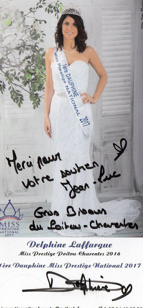 1ére dauphine de miss prestige national 2017