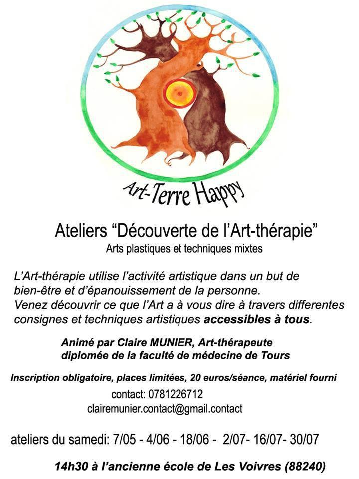 """Ateliers """"découverte de l'Art-Thérapie"""""""
