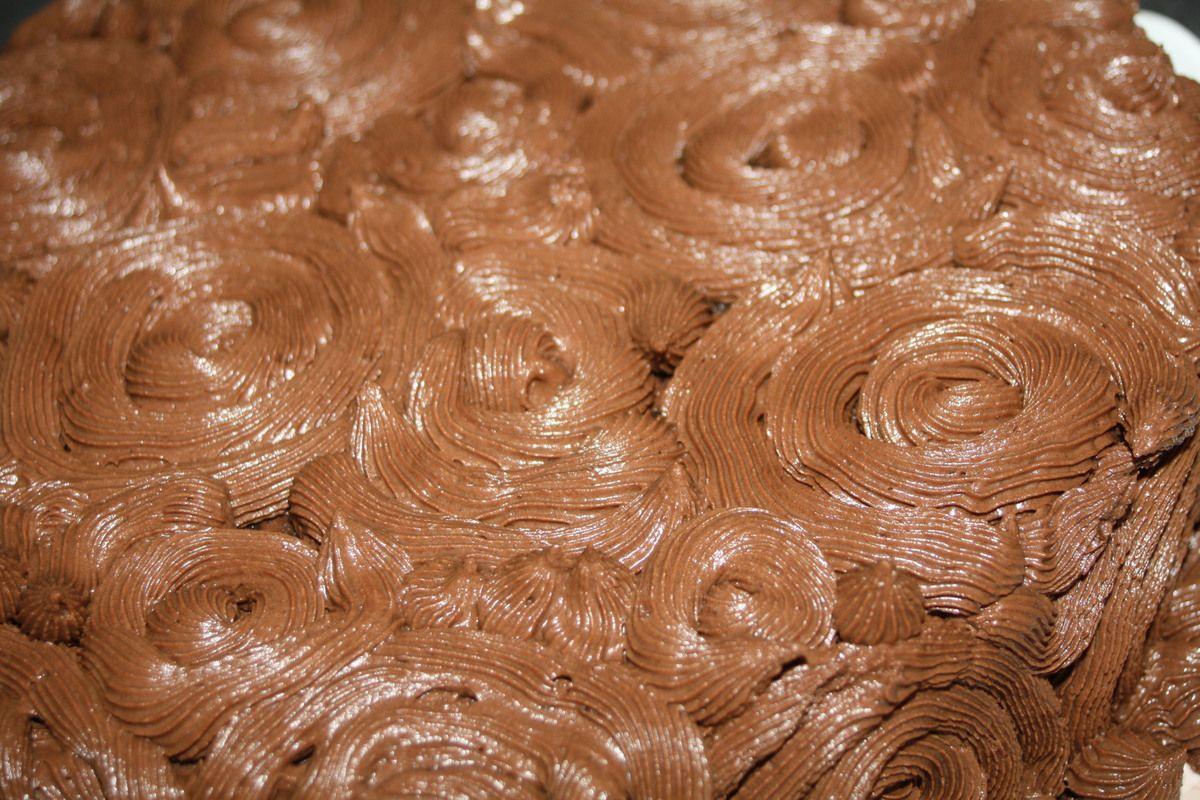 Le Chocolat Rose Cake : Gâteau tout Choco !!!