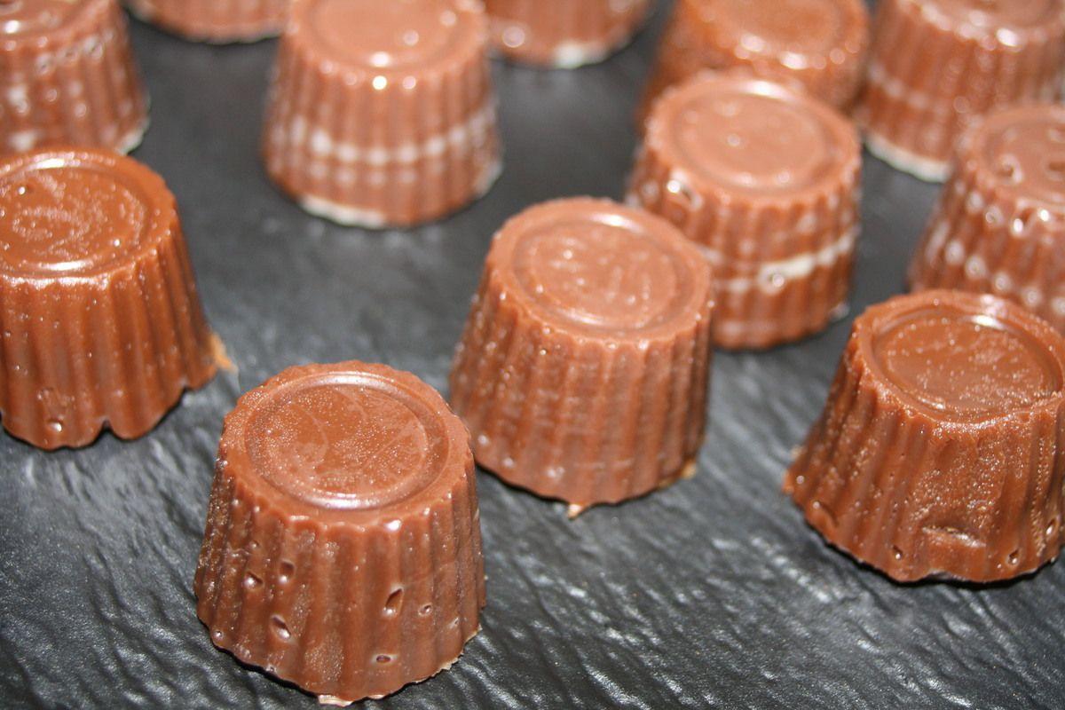 Les Caramels tendres au Chocolat