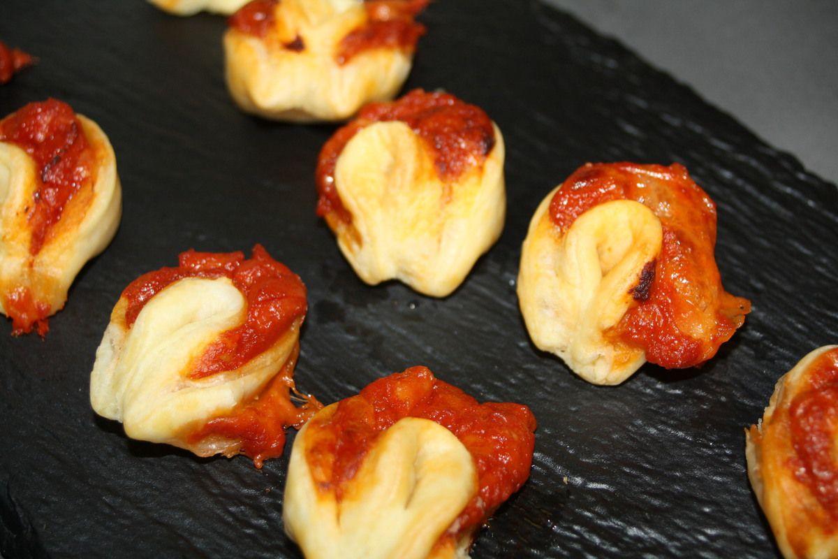 Pétale de Tomate Mozzarella