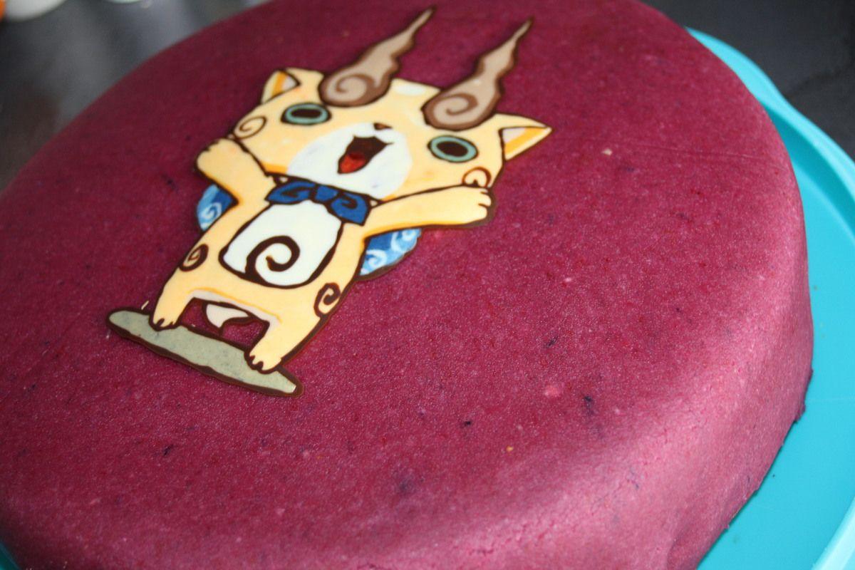 Le gateau Pinata &quot&#x3B;Komajiro&quot&#x3B; Yo-Kai Watch