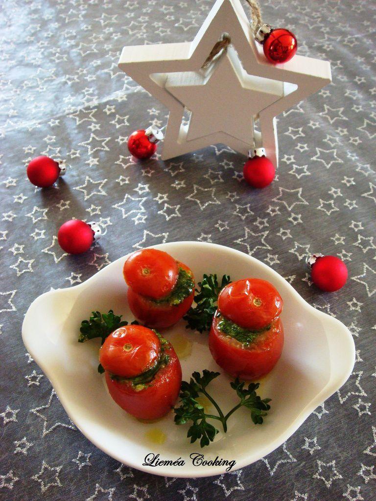 Tomates surprises aux escargots et ail blanc de Lomagne