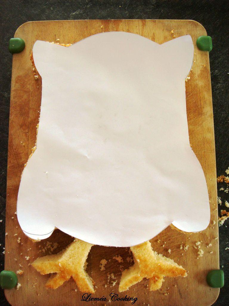Gâteau Chouette yaourt et mascarpone