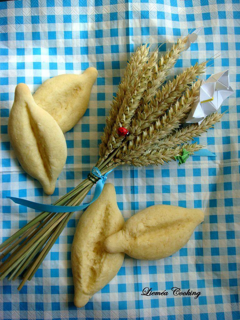 Navettes provençales ou épis de pain en trompe l'œil