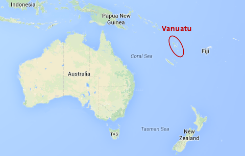 Where Is Vanuatu Located On A World Map.Happy Vanuatu Life Location Vanuatu Happy Smile