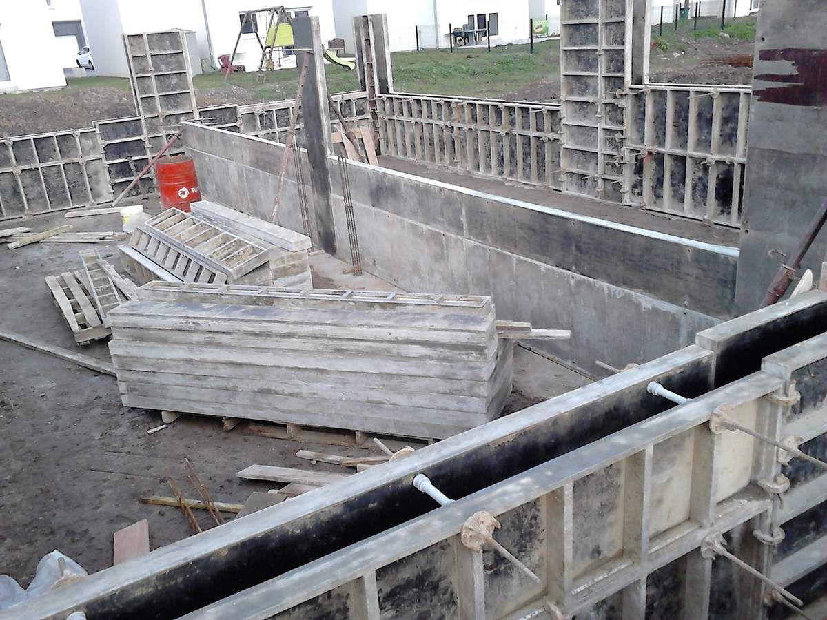 Le vide sanitaire construction de notre maison ossature bois for Coffrage vide sanitaire