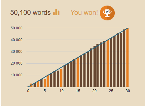 Nanowrimo Winner !