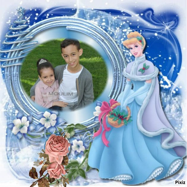 H R H The Grown Prince Moualy El Hassan with his sister H R H Princess and flower our country Lalla Khadija God bless them Amen
