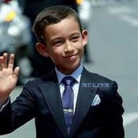 H R H Grown Prince Moulay El Hassan God bless him Amen