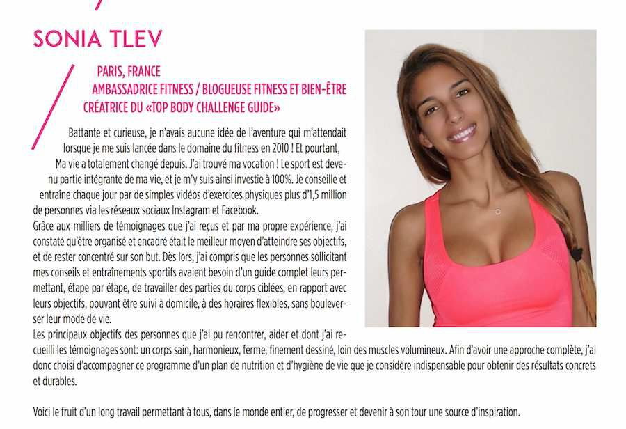 • Le Top Body Challenge, nos avis ! •