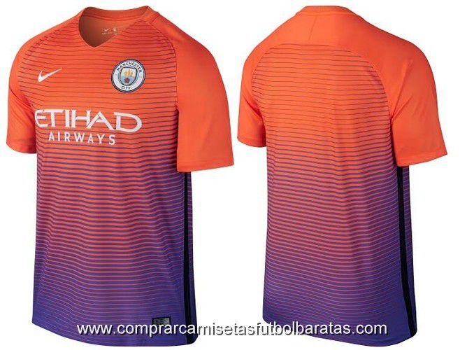 Camiseta Manchester City 2017 tercera equipacion - Comprar camisetas ... 09d9a961f9050
