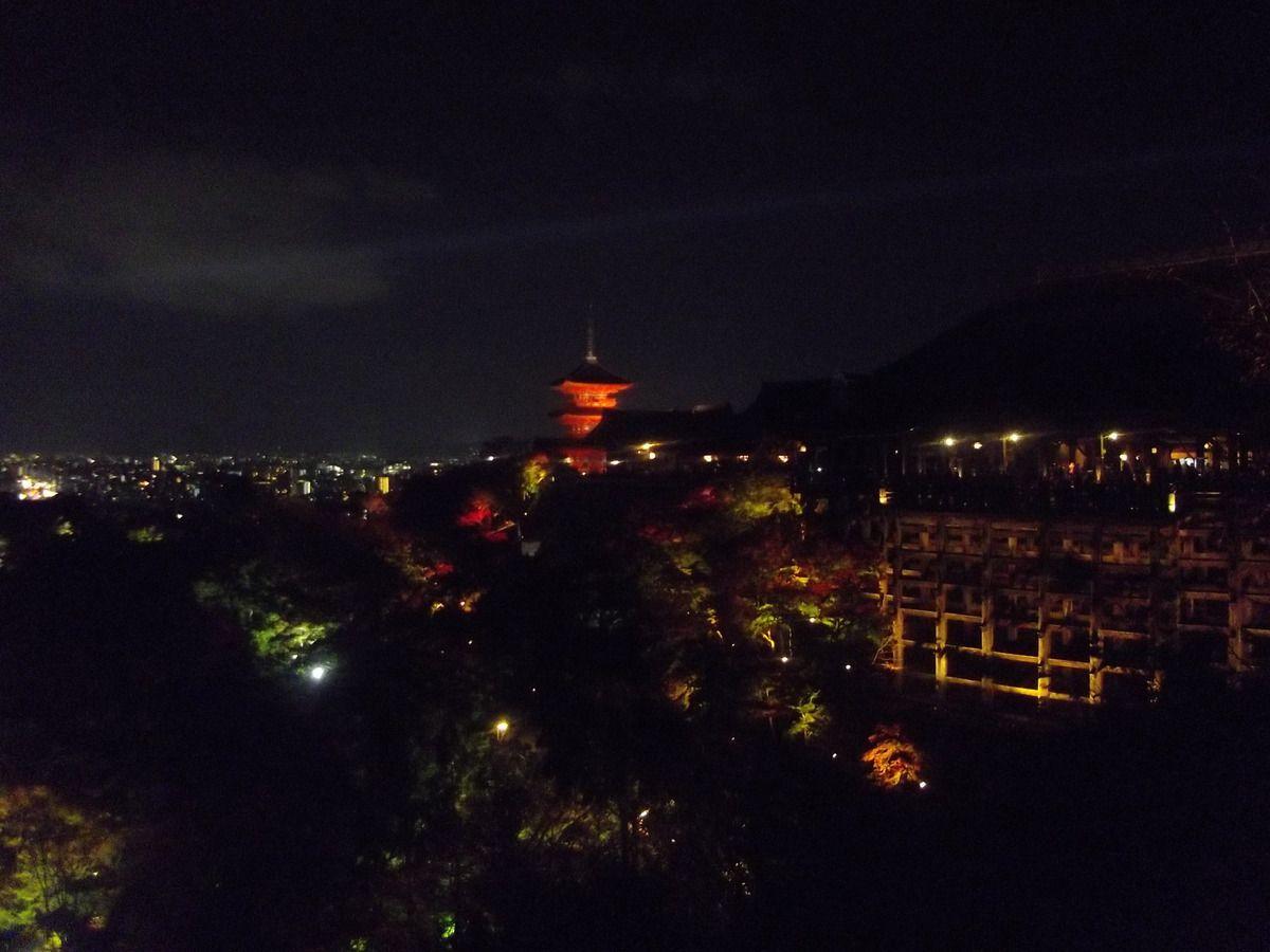 Temple de nuit