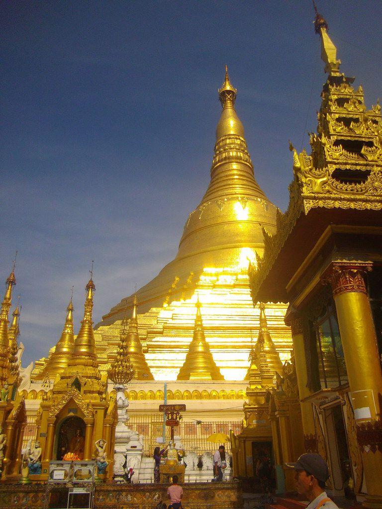 Tu sais que ... tu es au Myanmar