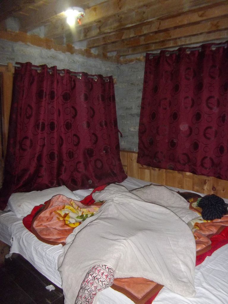 Notre chambre à Manang