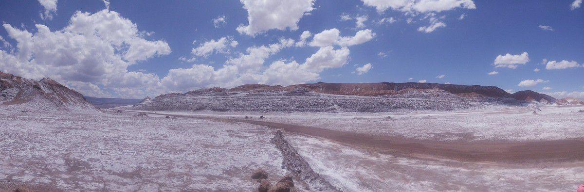 San Pedro d'Atacama et la vallée de la Lune.