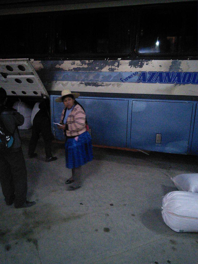 Pisiga, le passage de la frontière du Chili vers la Bolivie