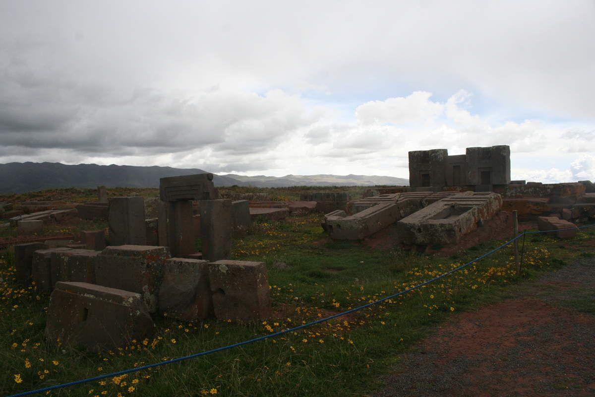 Les ruines de Tiwanaku