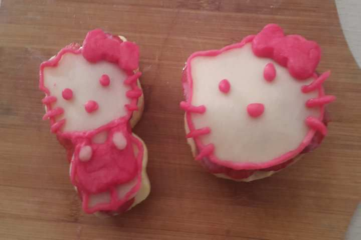 Tartelette à la fraise hello kitty