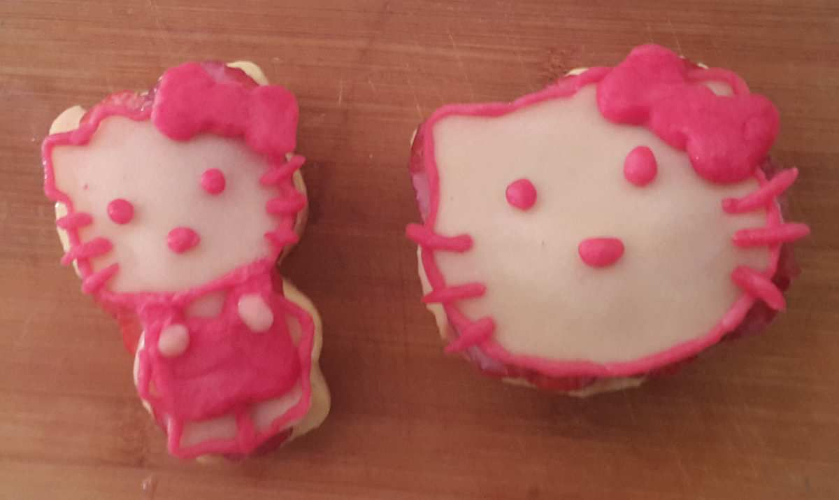 Tartelette Au Fraise Hello Kitty