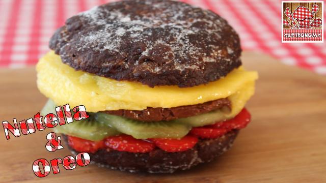 •☼• Recette Du Oreo Burger Au Nutella - Rapide & Facile •☼•
