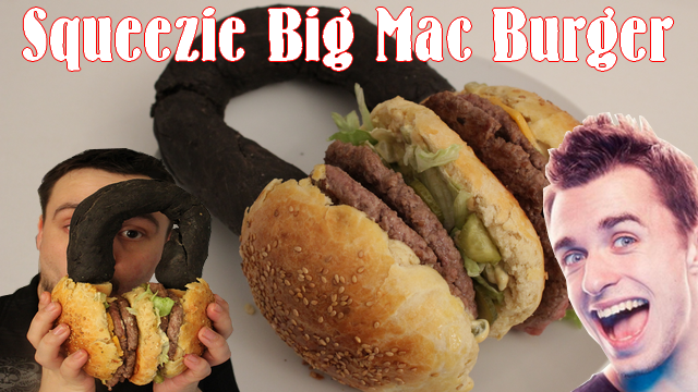 Le SQUEEZIE Big Mac BURGER | FastFood | Mcdo