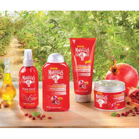 L'huile Elixir, le shampooing huile, l'après-shampoing et le masque