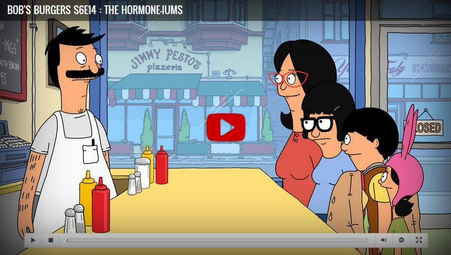 bob s burgers season 6 episode 14 the hormone iums watch tv show