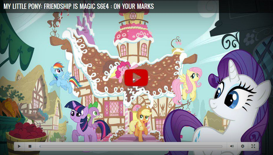 my little pony friendship is magic season 6 episode 4 on your marks