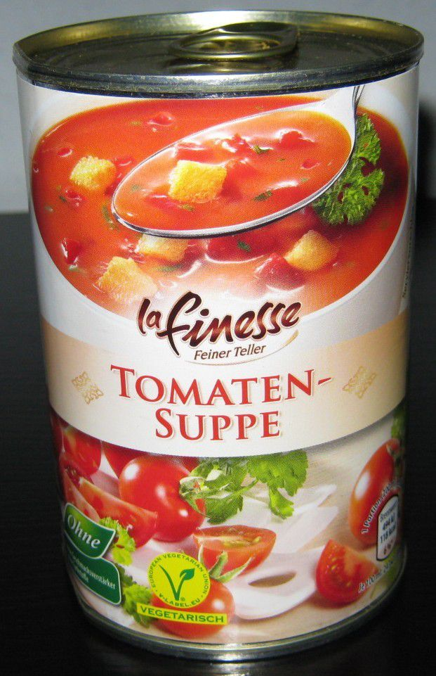 aldi nord tomatensuppe tomaten suppe von buss. Black Bedroom Furniture Sets. Home Design Ideas