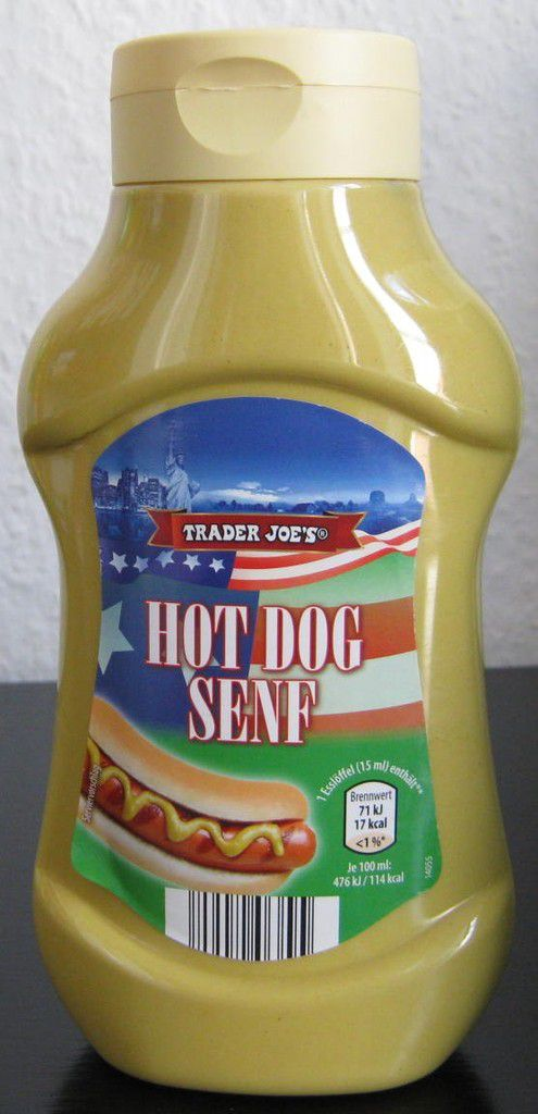 aldi nord trader joe 39 s hot dog senf mittelscharf von j tro produkttester von fertiggerichten. Black Bedroom Furniture Sets. Home Design Ideas