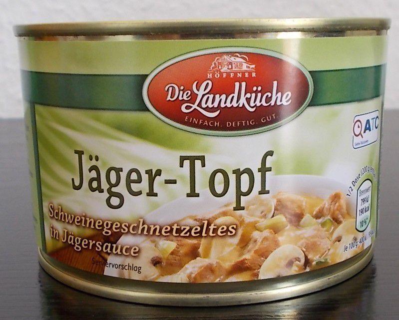 Aldi Nord] Die Landküche Jäger-Topf Schweinegeschnetzeltes ...
