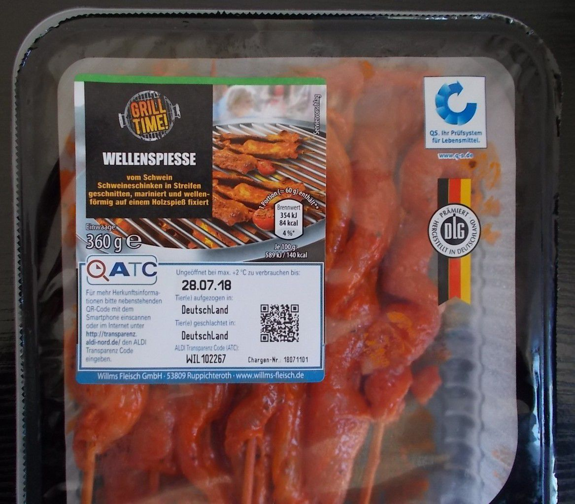 aldi nord] grill time wellenspiesse - produkttester von