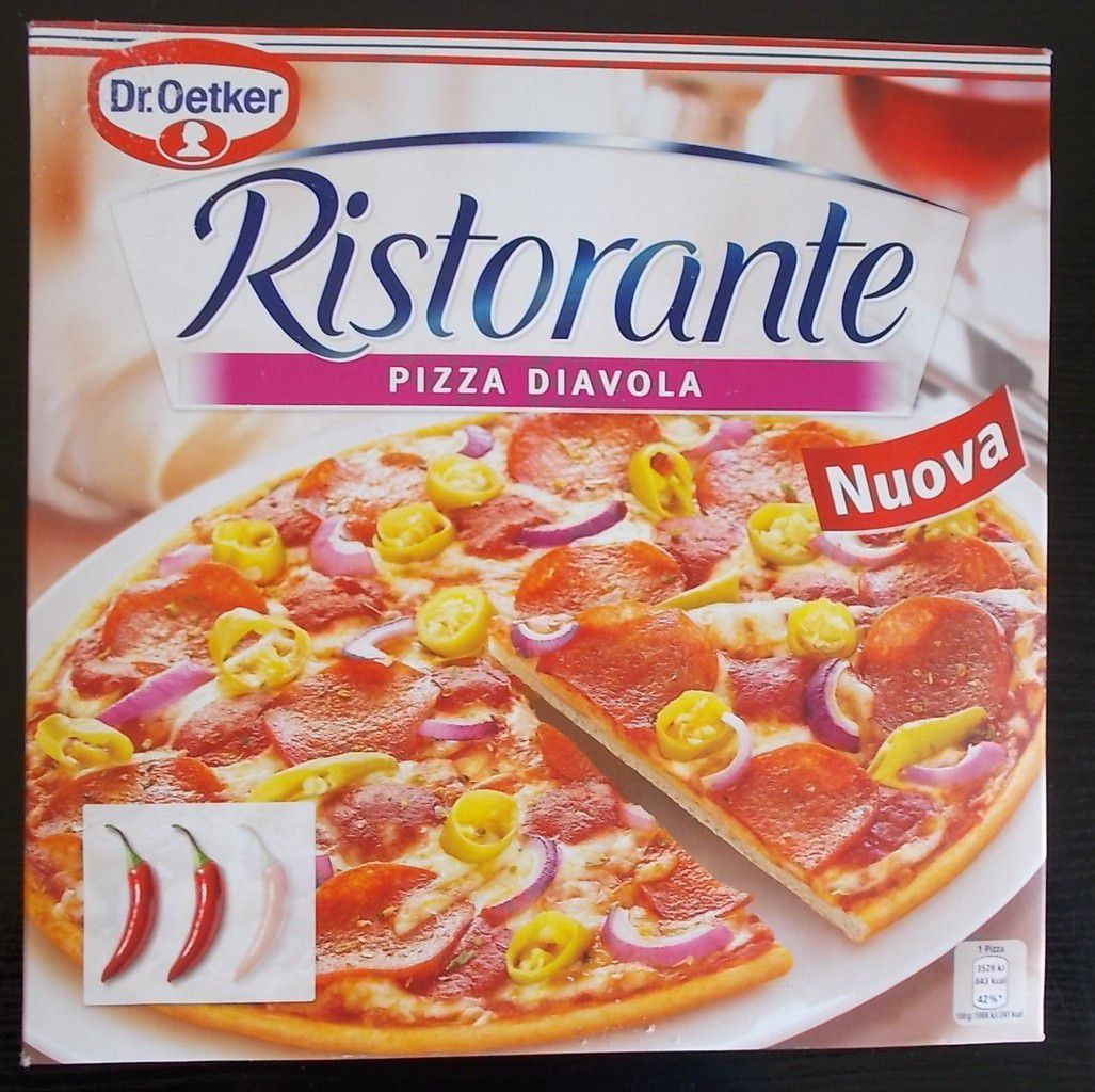 Dr Oetker Ristorante Pizza Diavola Blogtestesser