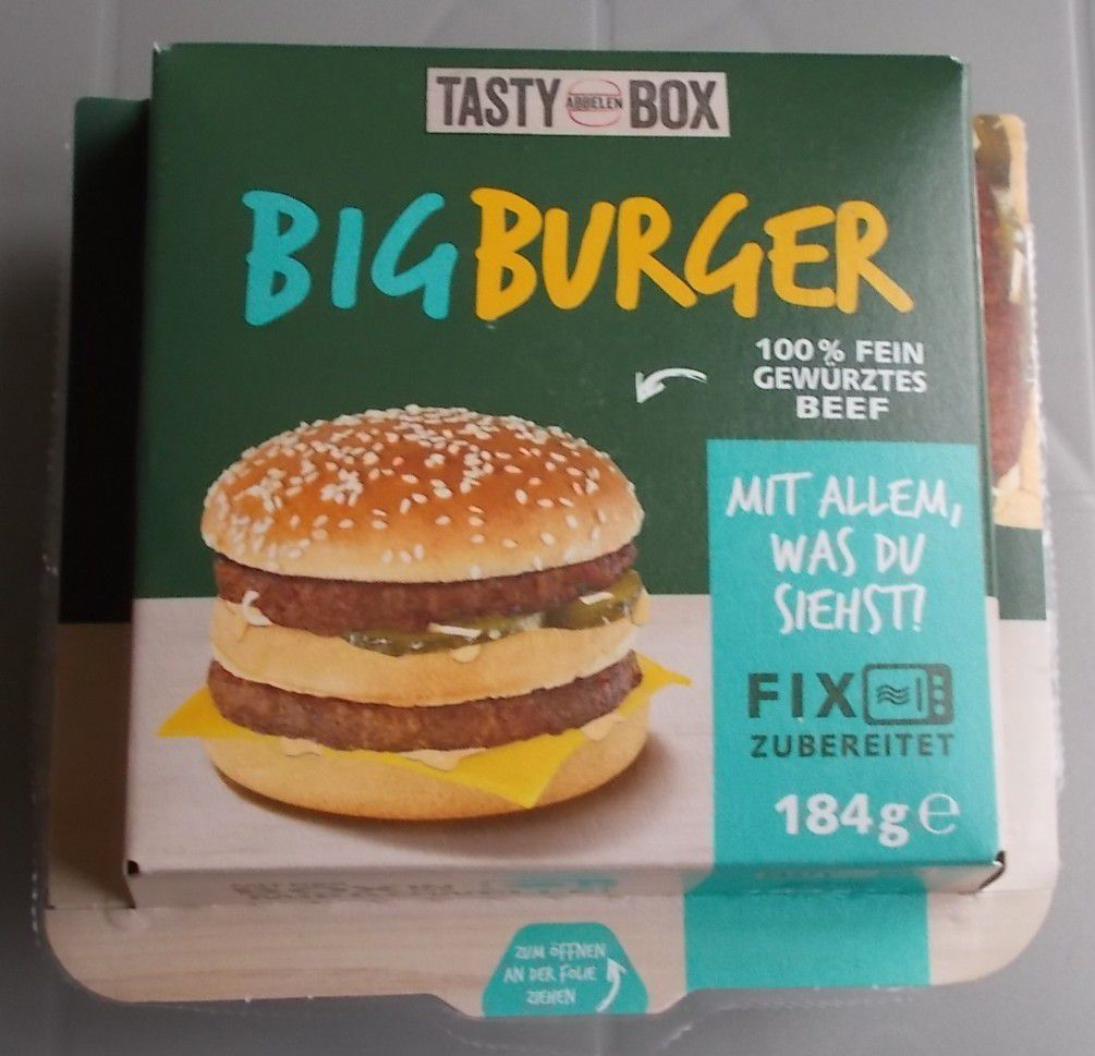 Abbelen Big Burger Blogtestesser