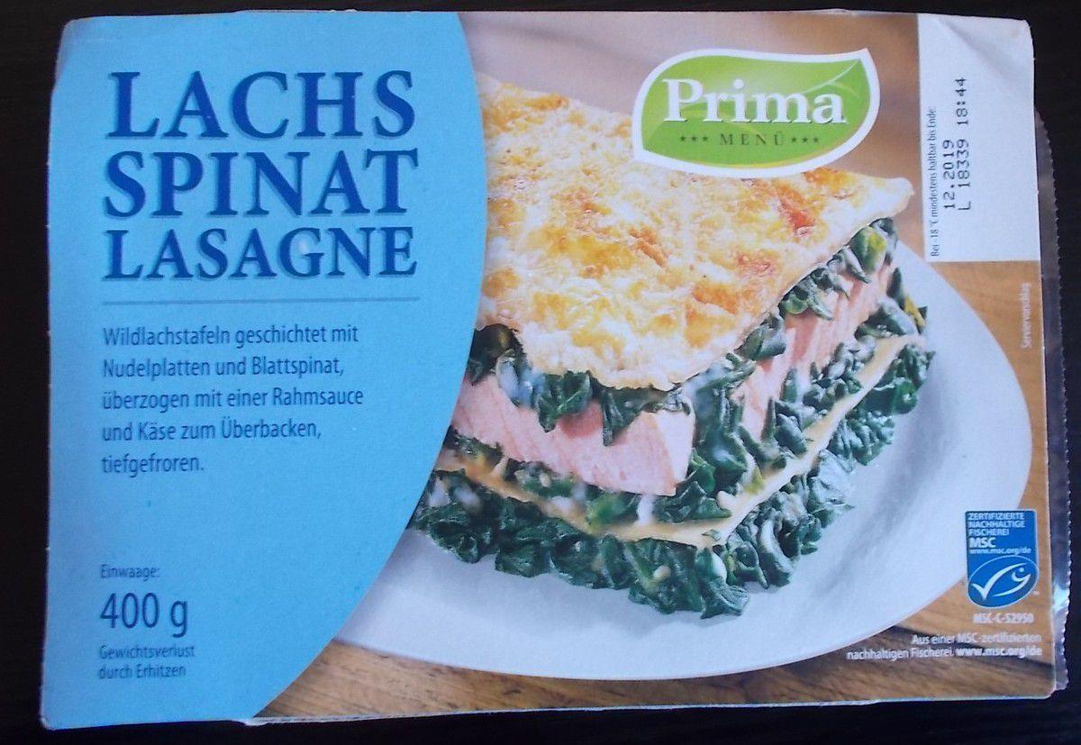 Prima Lachs Spinat Lasagne Blogtestesser