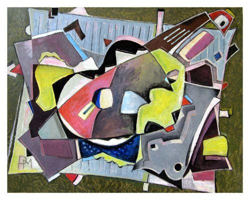 huile sur papier 98 X 77 cm (1979)