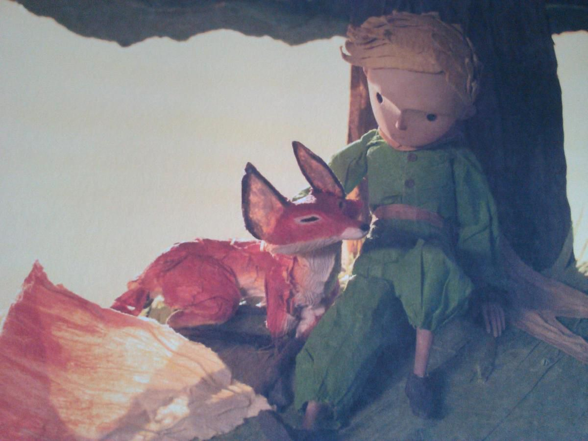 Image issue du film Le petit Prince
