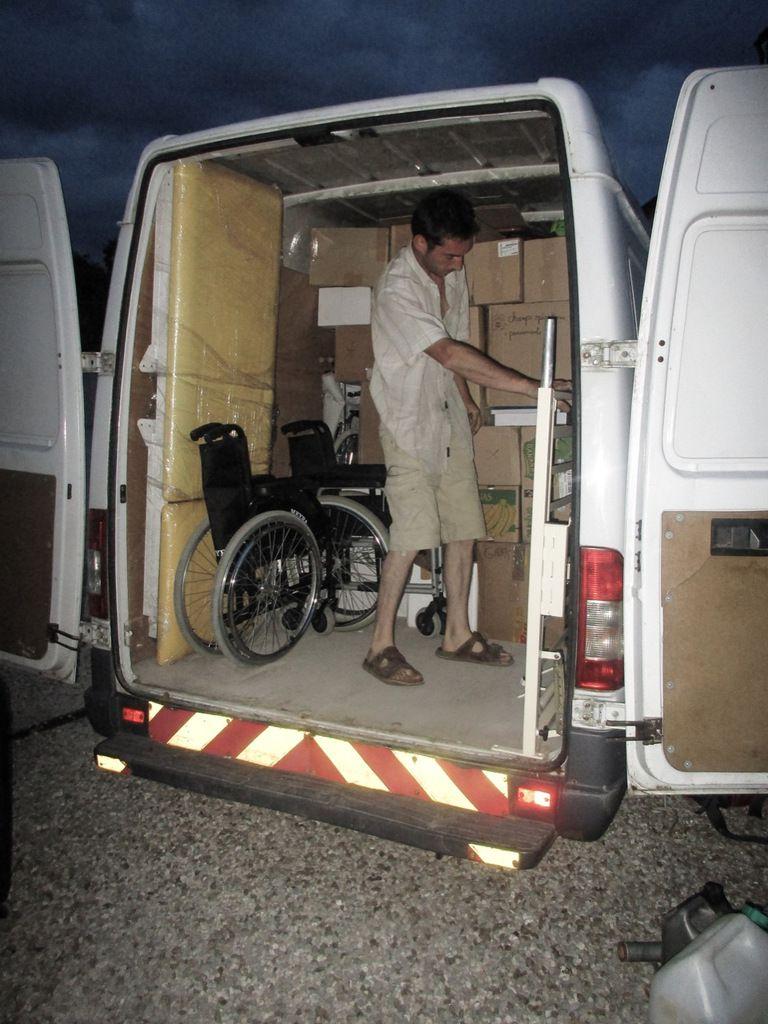 Réparations surprises, réception Margot et chargement à Auxerre