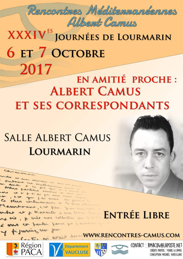 Rencontres Méditerranéennes Albert Camus