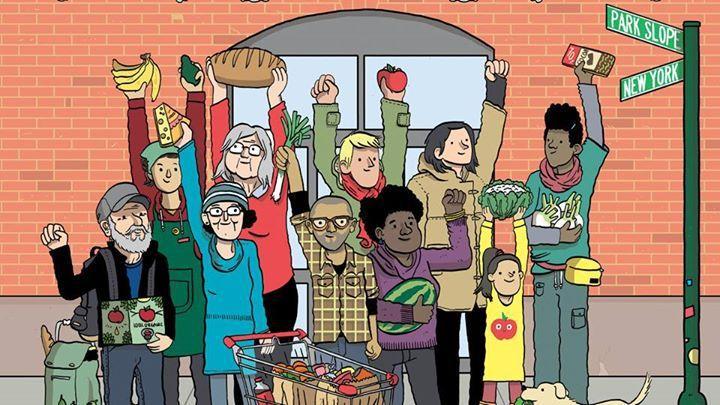 Détail de l'affiche du film Food Coop