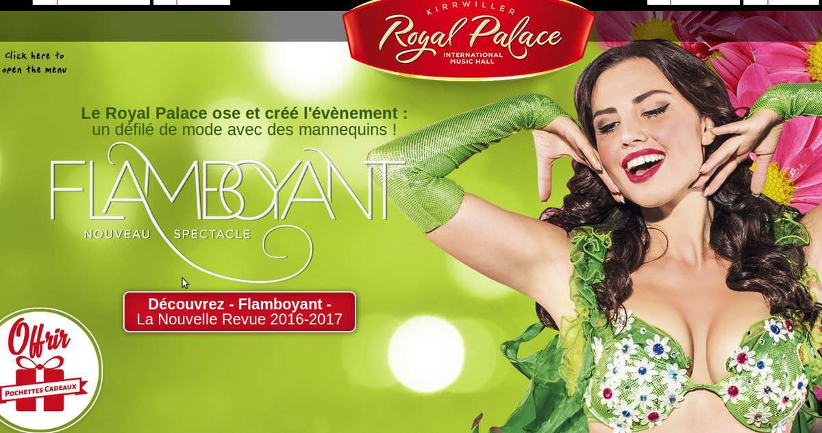 "Spectacle ""Flamboyant"" - http://royal-palace.com/en/"